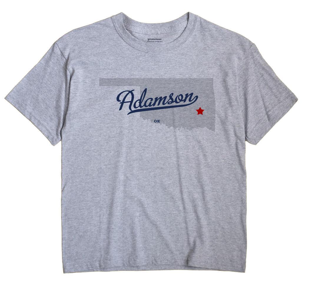 Adamson, Oklahoma OK Souvenir Shirt