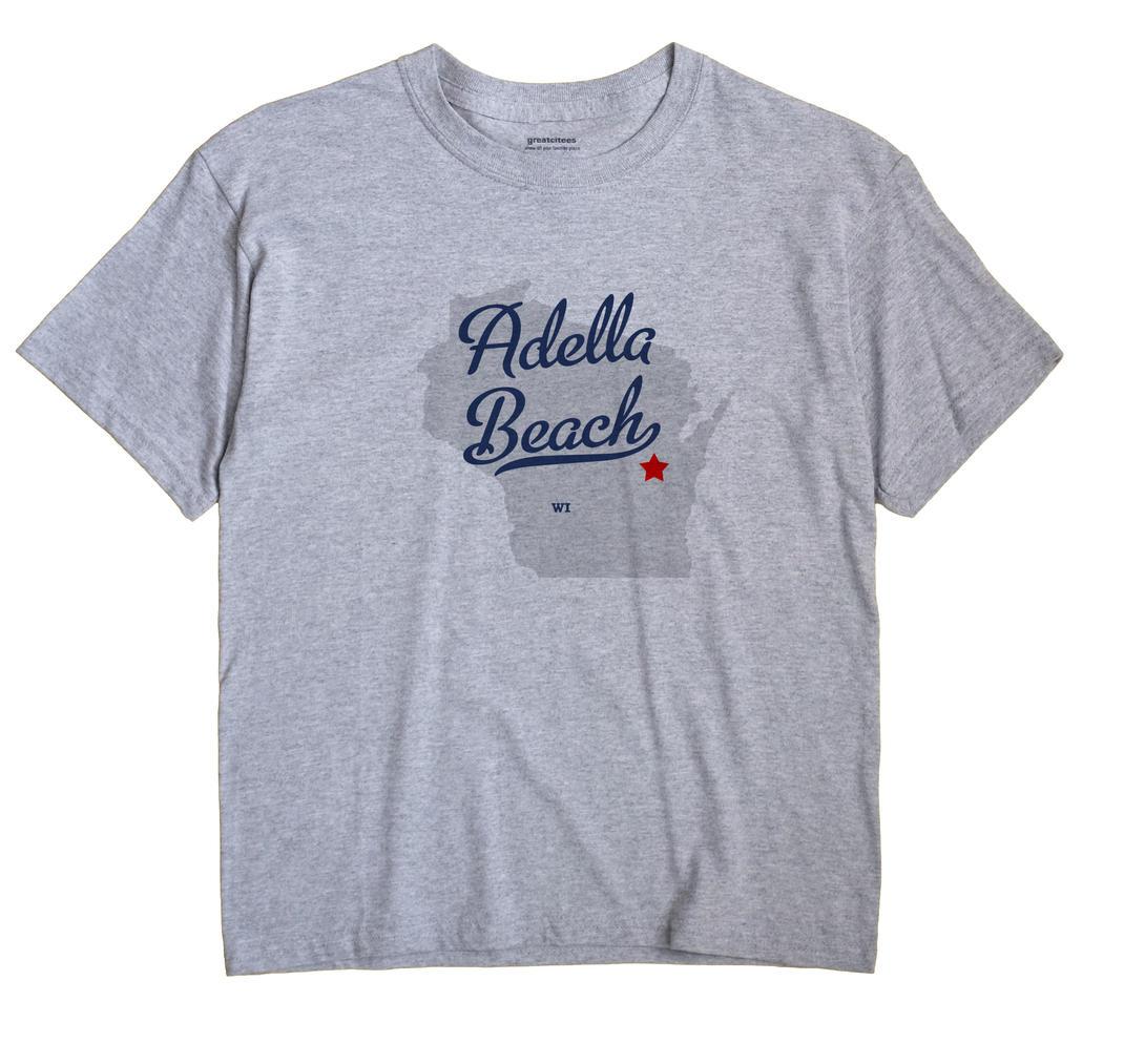 Adella Beach, Wisconsin WI Souvenir Shirt