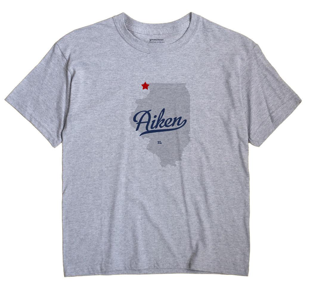Aiken, Illinois IL Souvenir Shirt