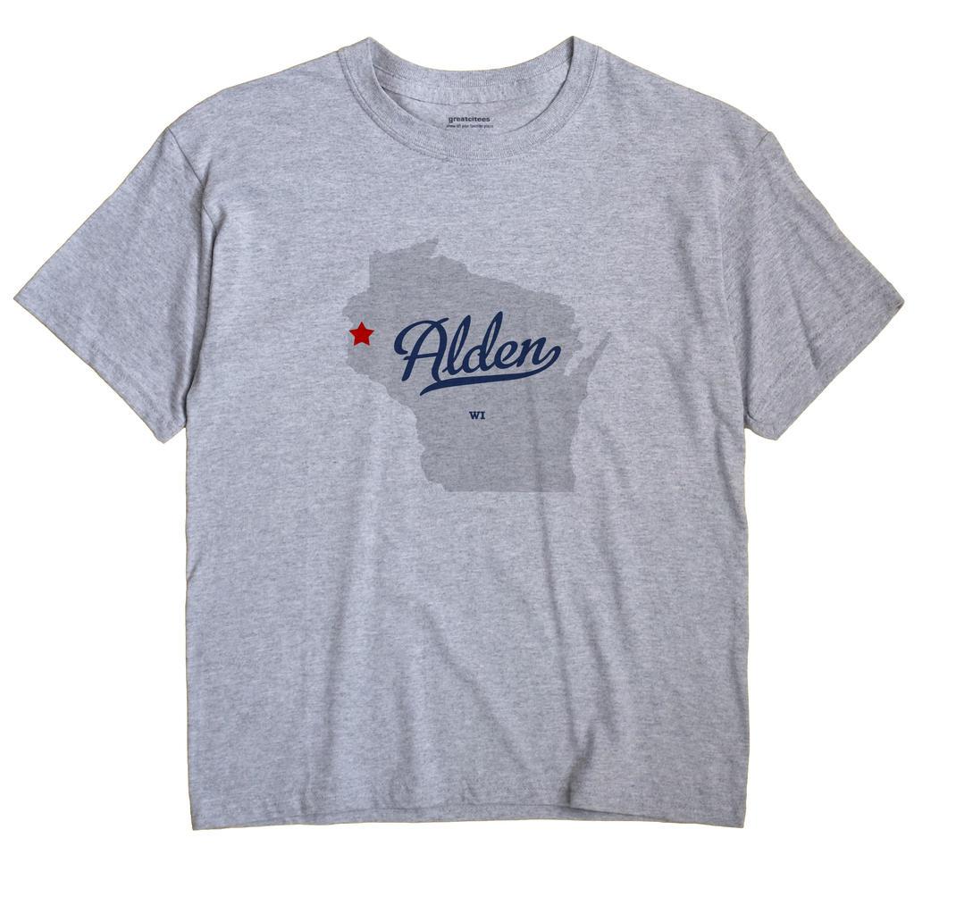 Alden, Wisconsin WI Souvenir Shirt