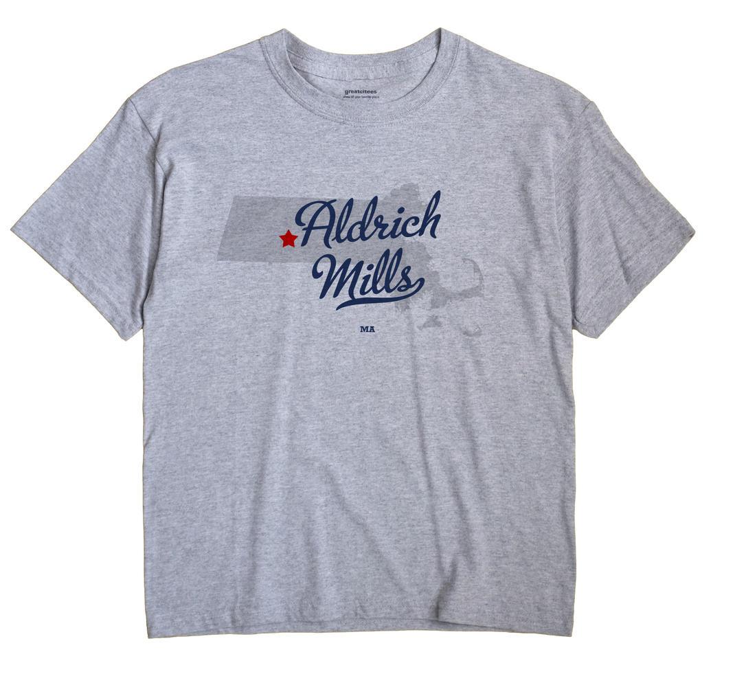 Aldrich Mills, Massachusetts MA Souvenir Shirt
