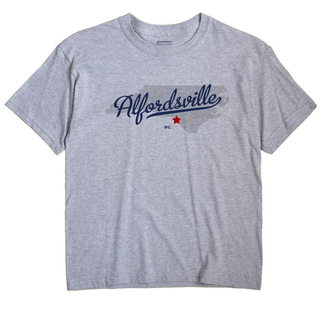 Alfordsville, North Carolina NC Souvenir Shirt