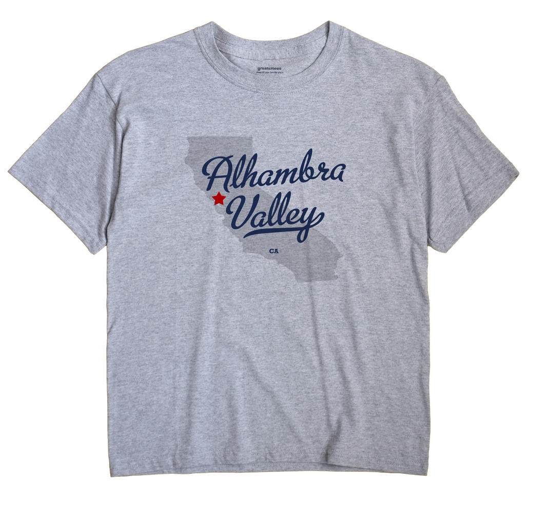 Alhambra Valley, California CA Souvenir Shirt