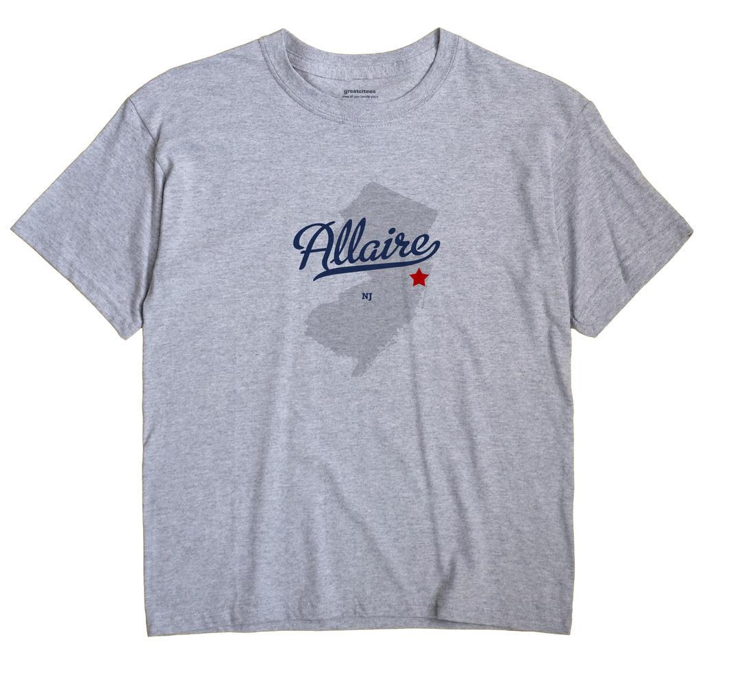 Allaire, New Jersey NJ Souvenir Shirt