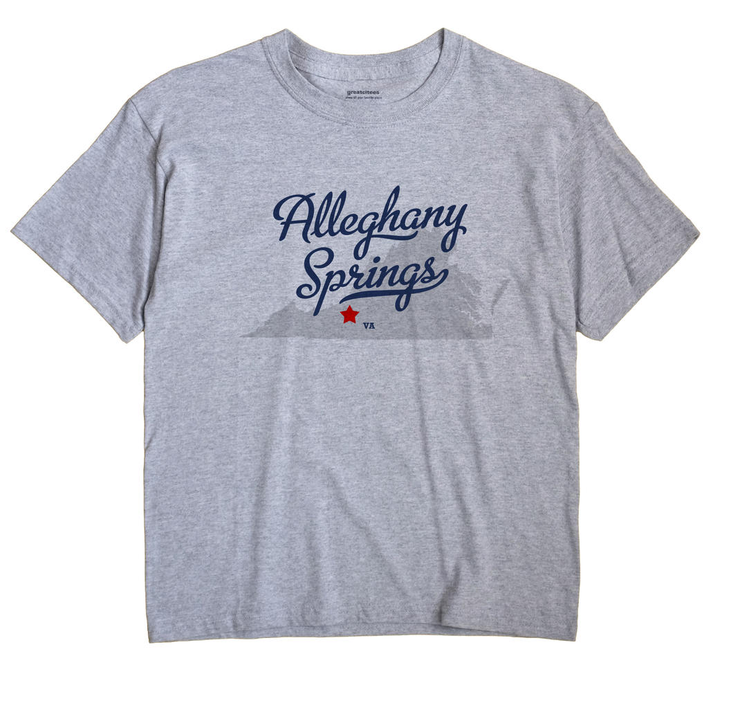 Alleghany Springs, Virginia VA Souvenir Shirt