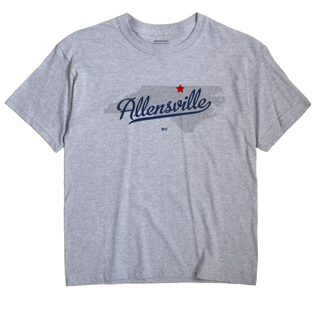 Allensville, North Carolina NC Souvenir Shirt