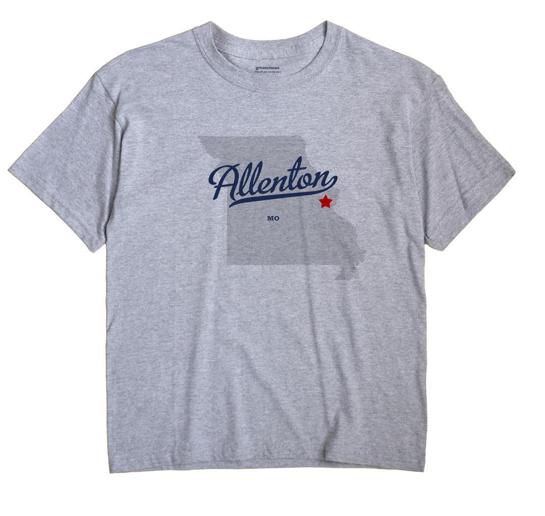 Allenton, Missouri MO Souvenir Shirt
