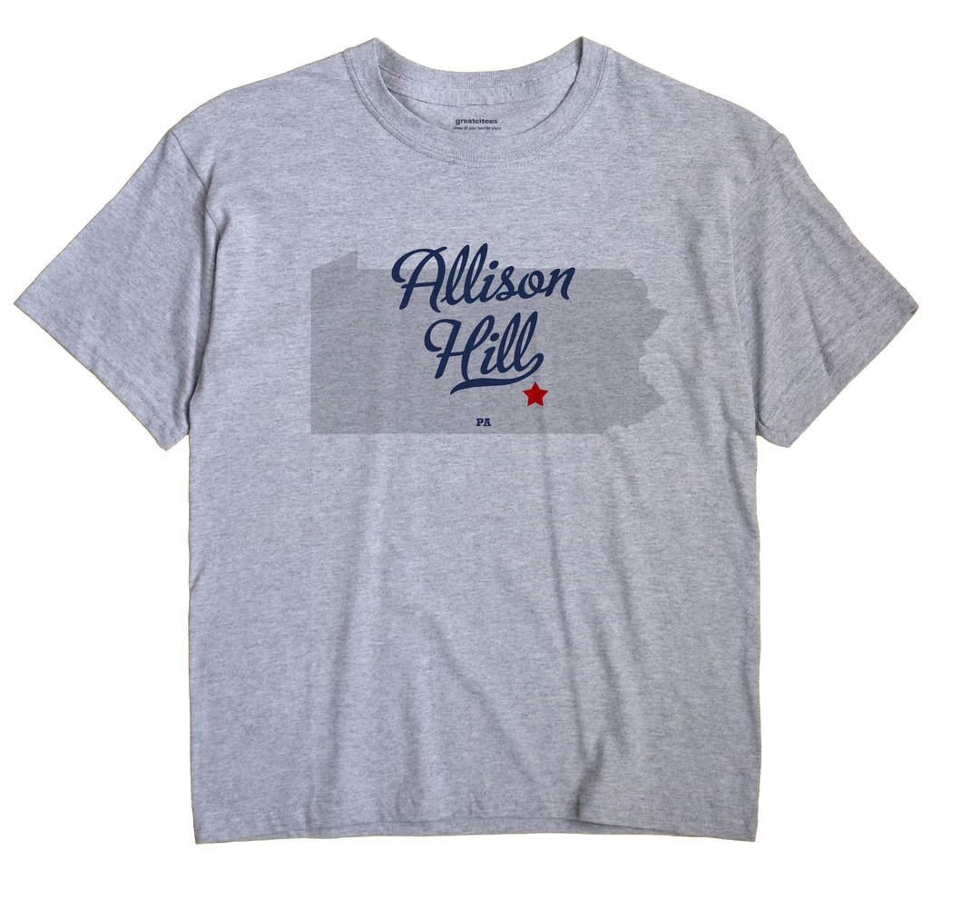 Allison Hill, Pennsylvania PA Souvenir Shirt