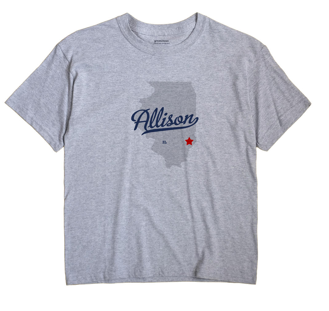 Allison, Illinois IL Souvenir Shirt