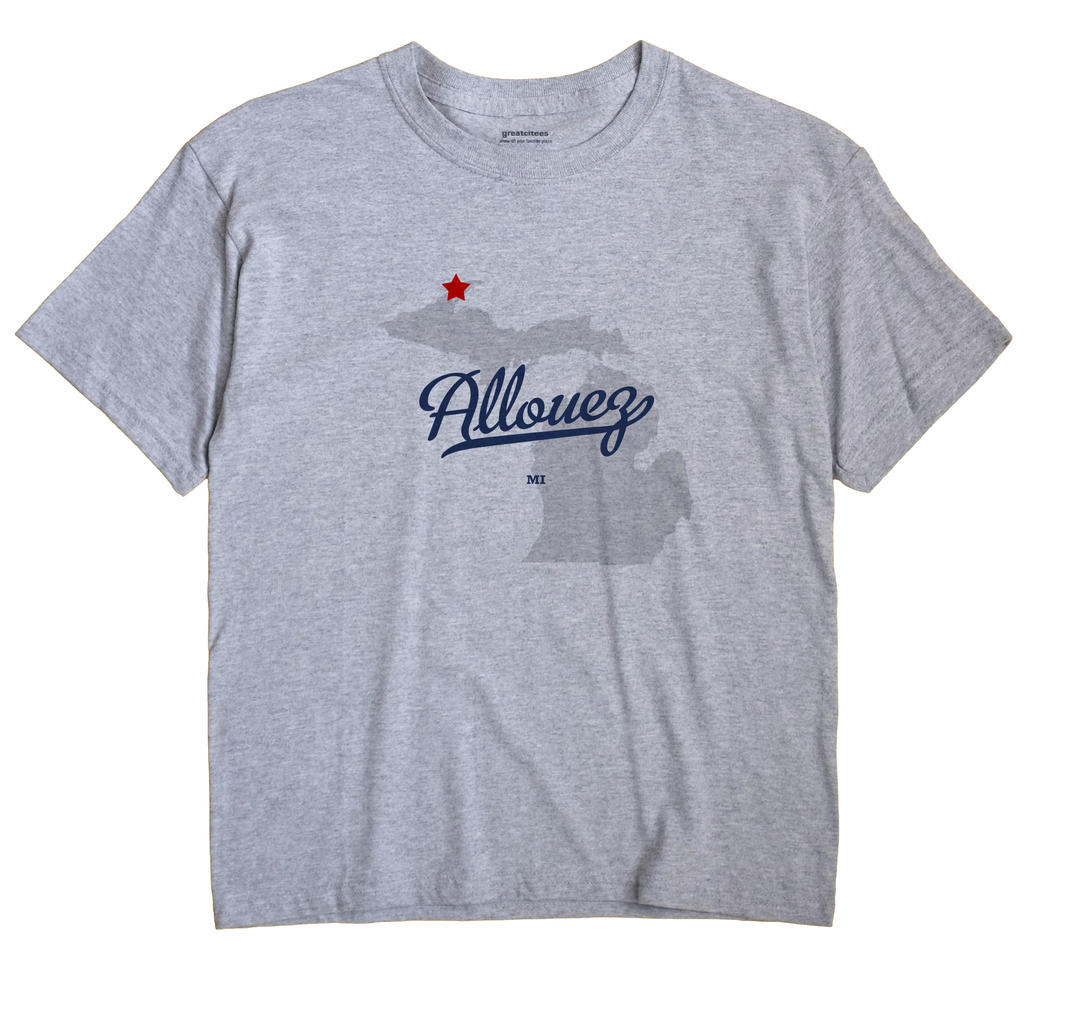 Allouez, Michigan MI Souvenir Shirt