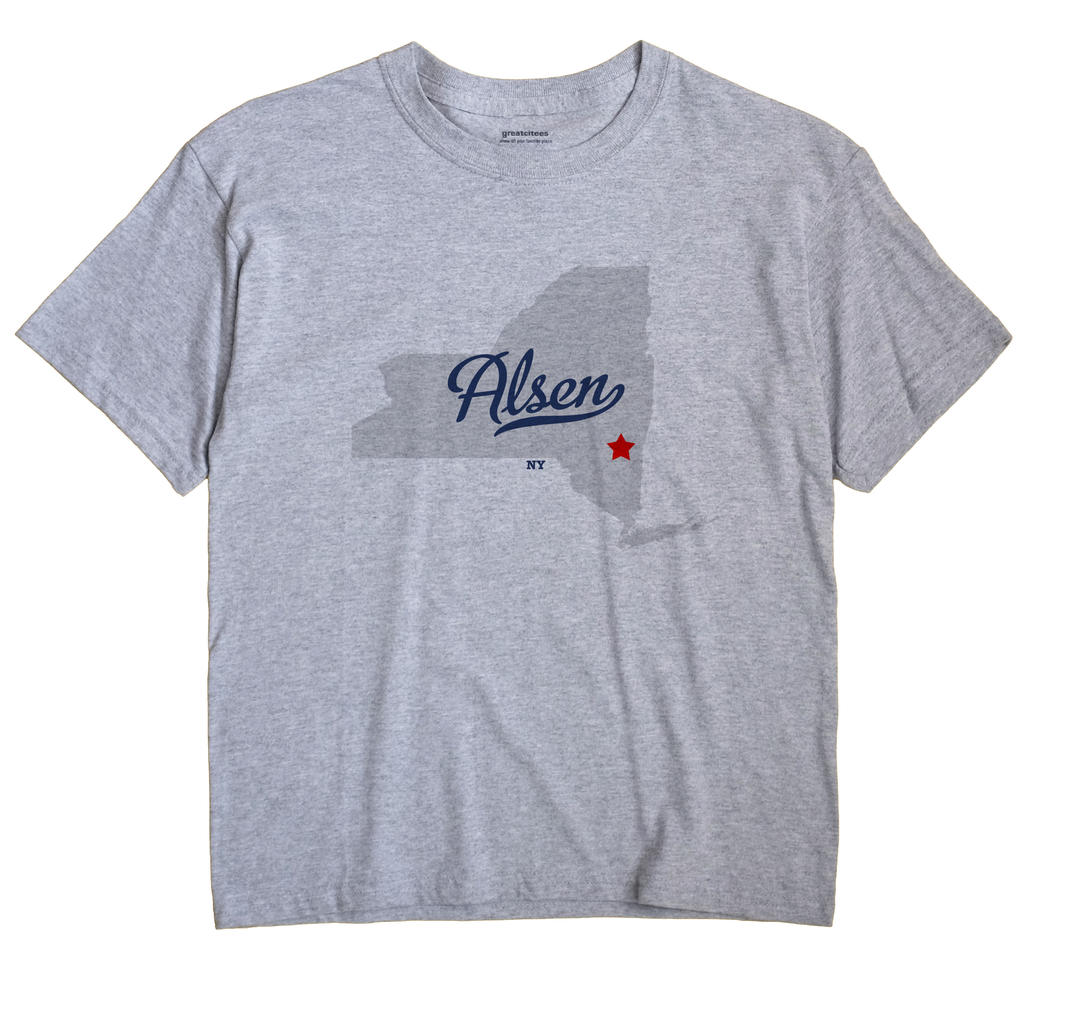 Alsen, New York NY Souvenir Shirt