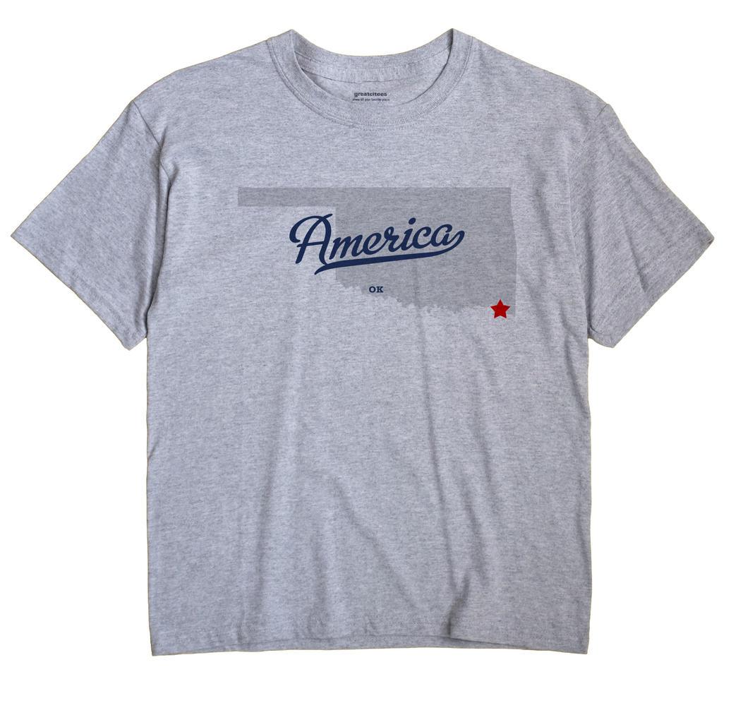 America, Oklahoma OK Souvenir Shirt