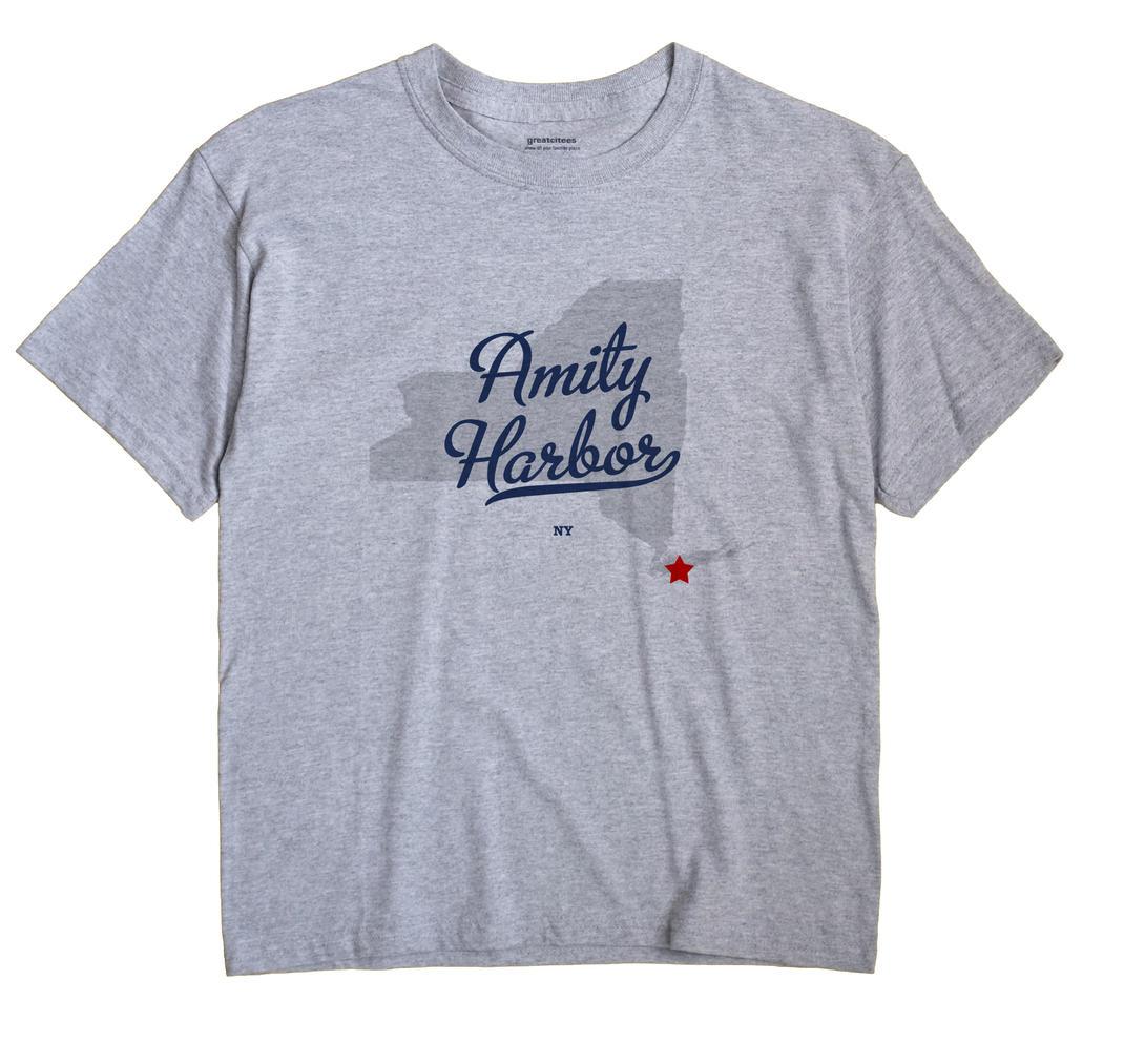 Amity Harbor, New York NY Souvenir Shirt