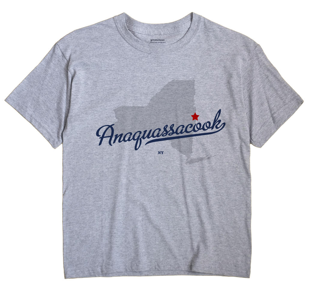 Anaquassacook, New York NY Souvenir Shirt