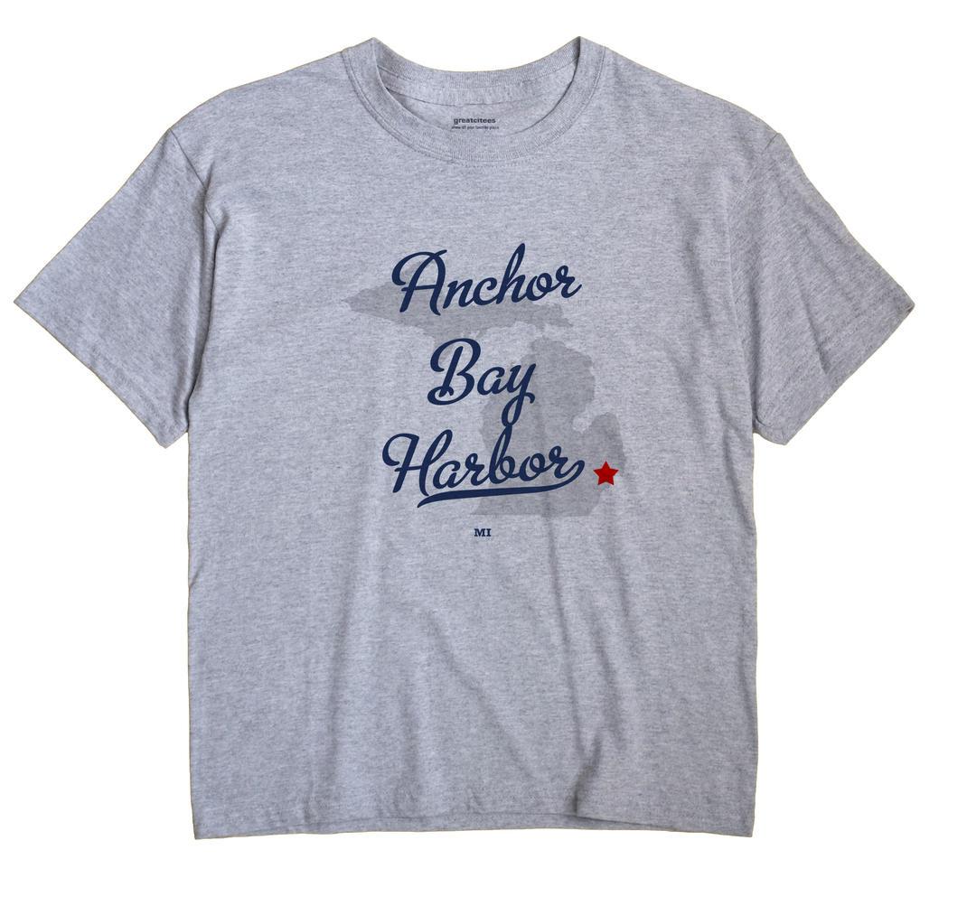 Anchor Bay Harbor, Michigan MI Souvenir Shirt
