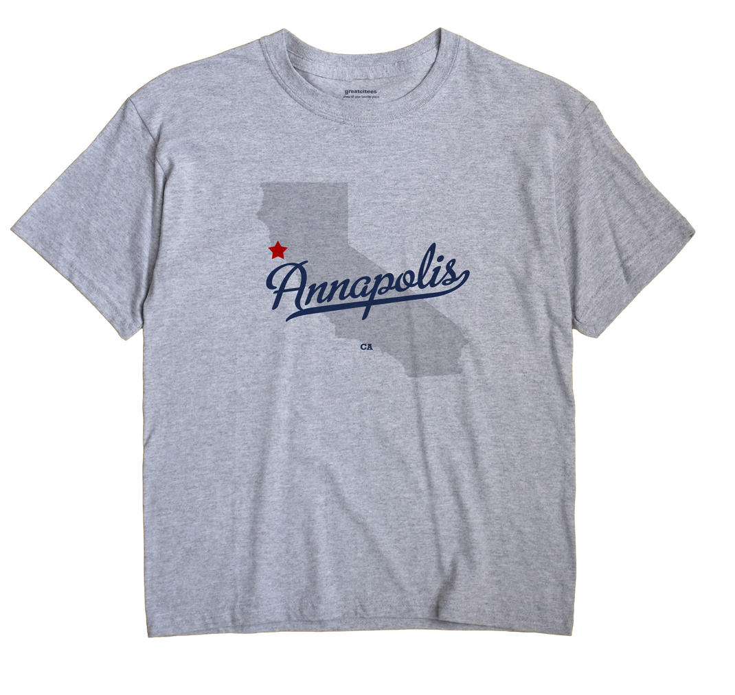 Annapolis, California CA Souvenir Shirt