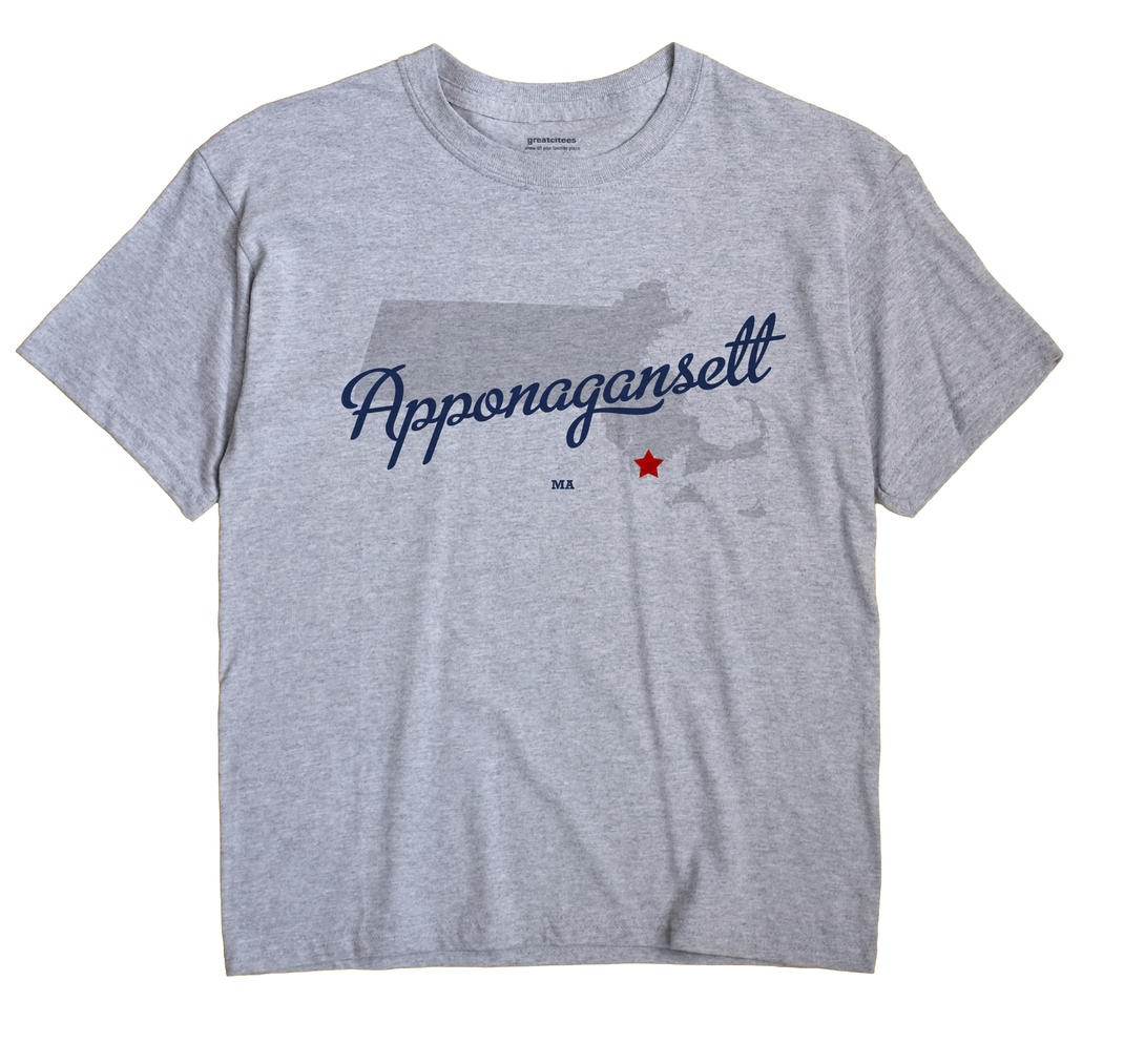 Apponagansett, Massachusetts MA Souvenir Shirt