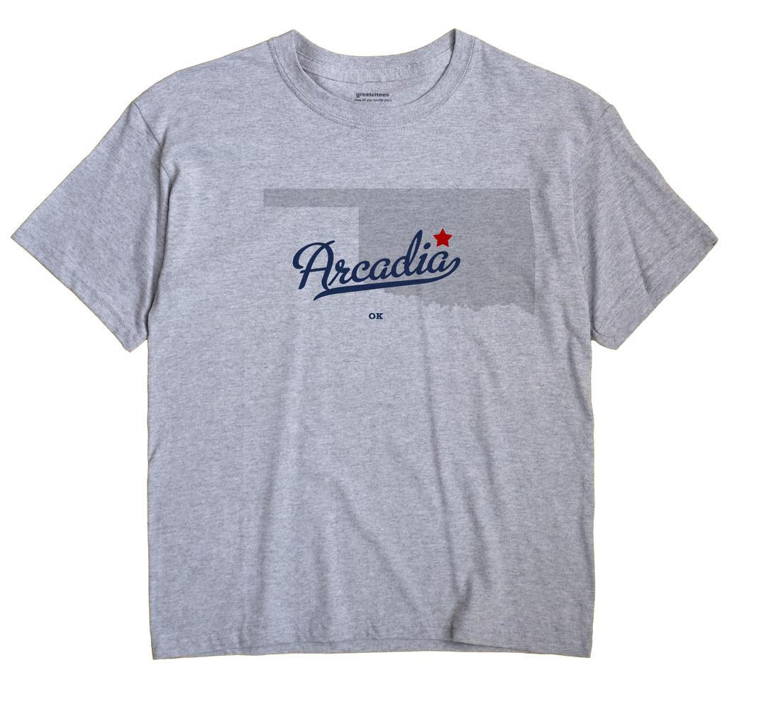 Arcadia, Oklahoma OK Souvenir Shirt