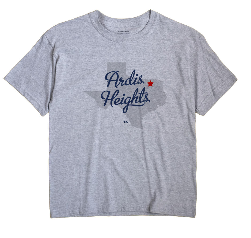 Ardis Heights, Texas TX Souvenir Shirt