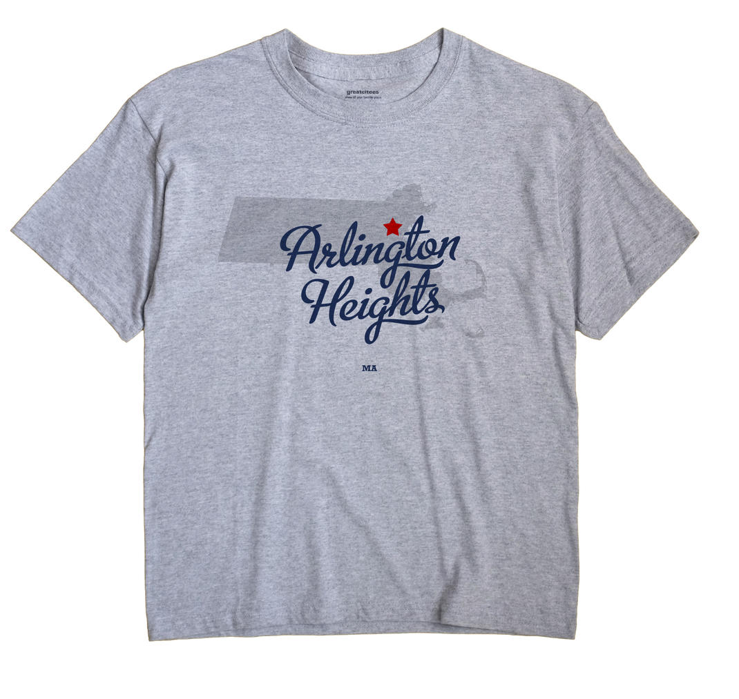 Arlington Heights, Massachusetts MA Souvenir Shirt