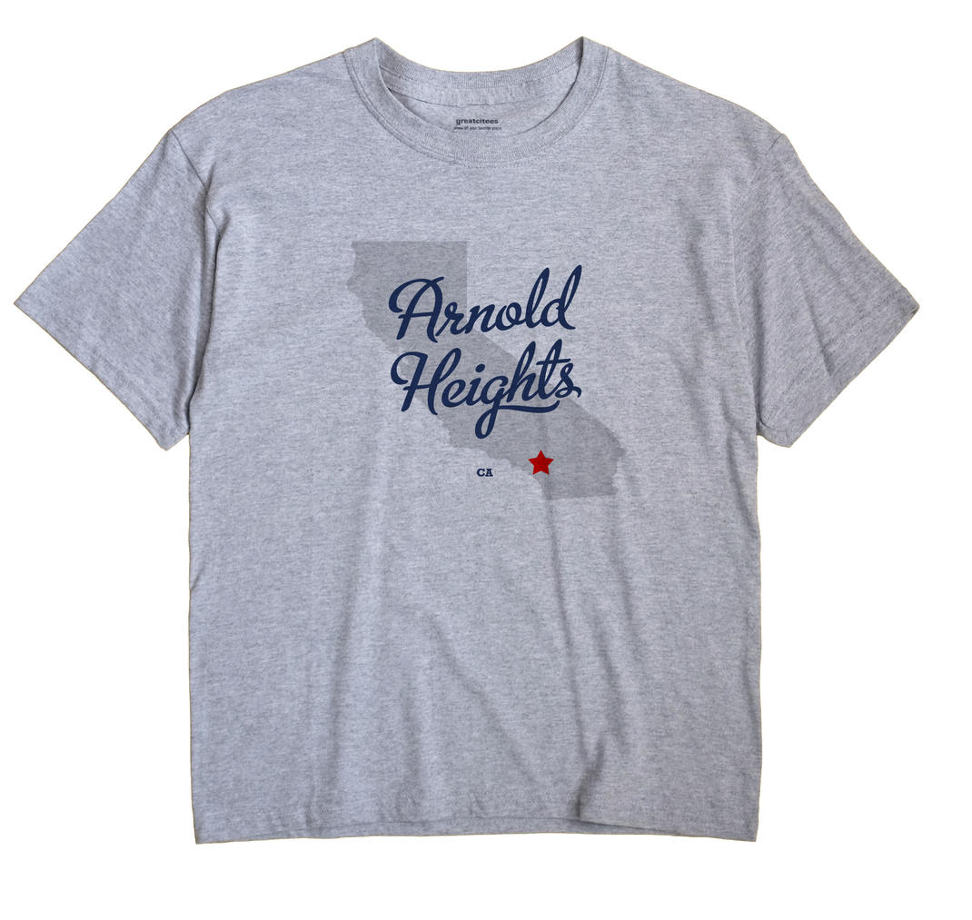 Arnold Heights, California CA Souvenir Shirt