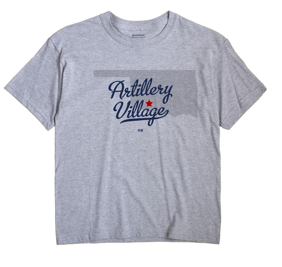 Artillery Village, Oklahoma OK Souvenir Shirt