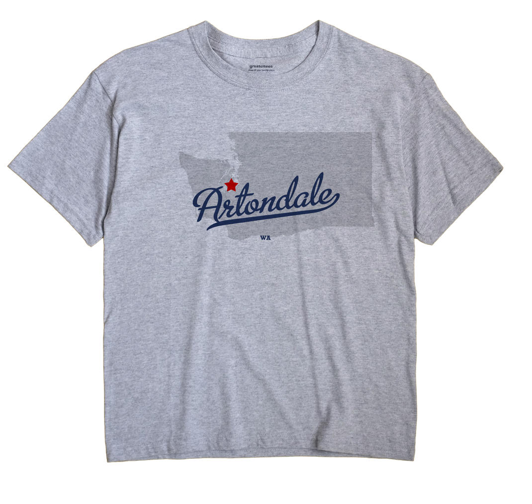 Artondale, Washington WA Souvenir Shirt