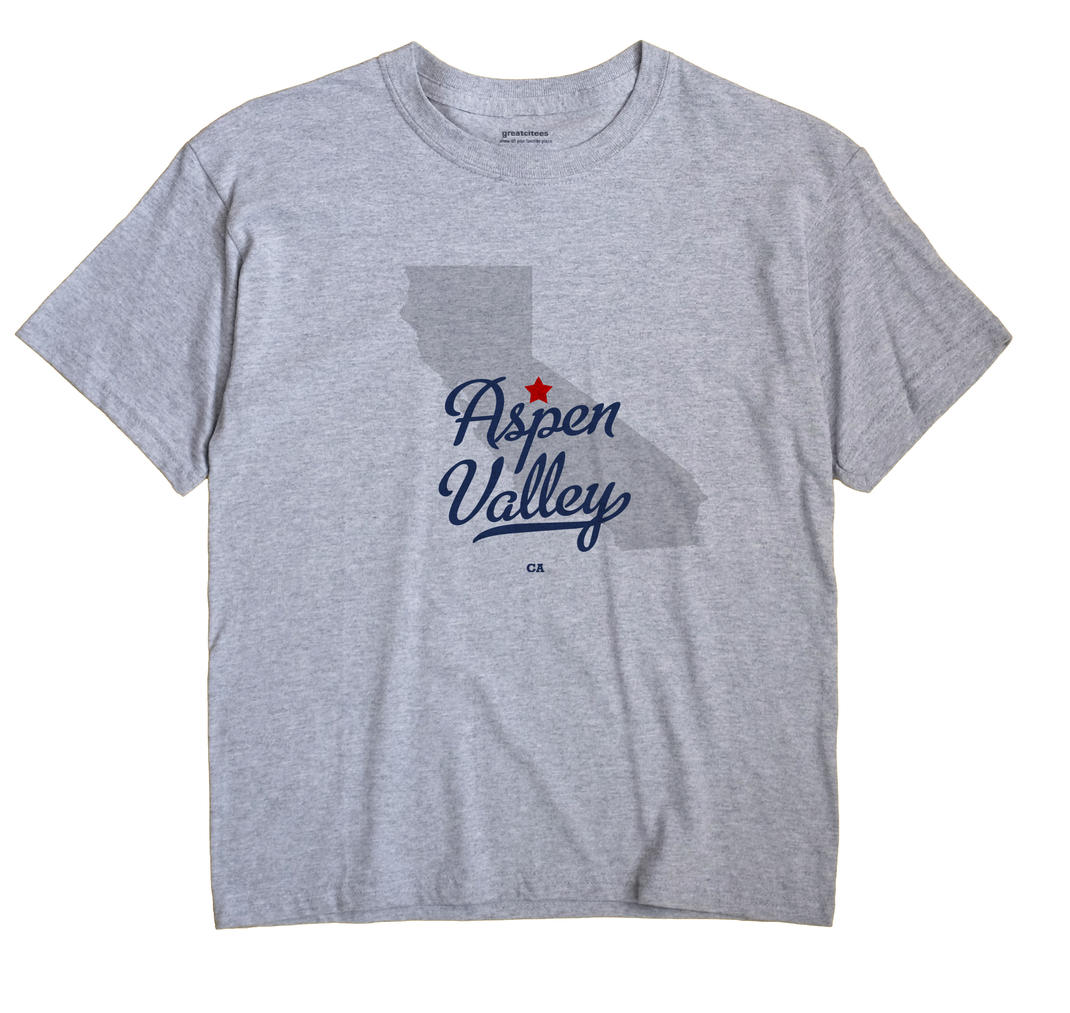 Aspen Valley, California CA Souvenir Shirt