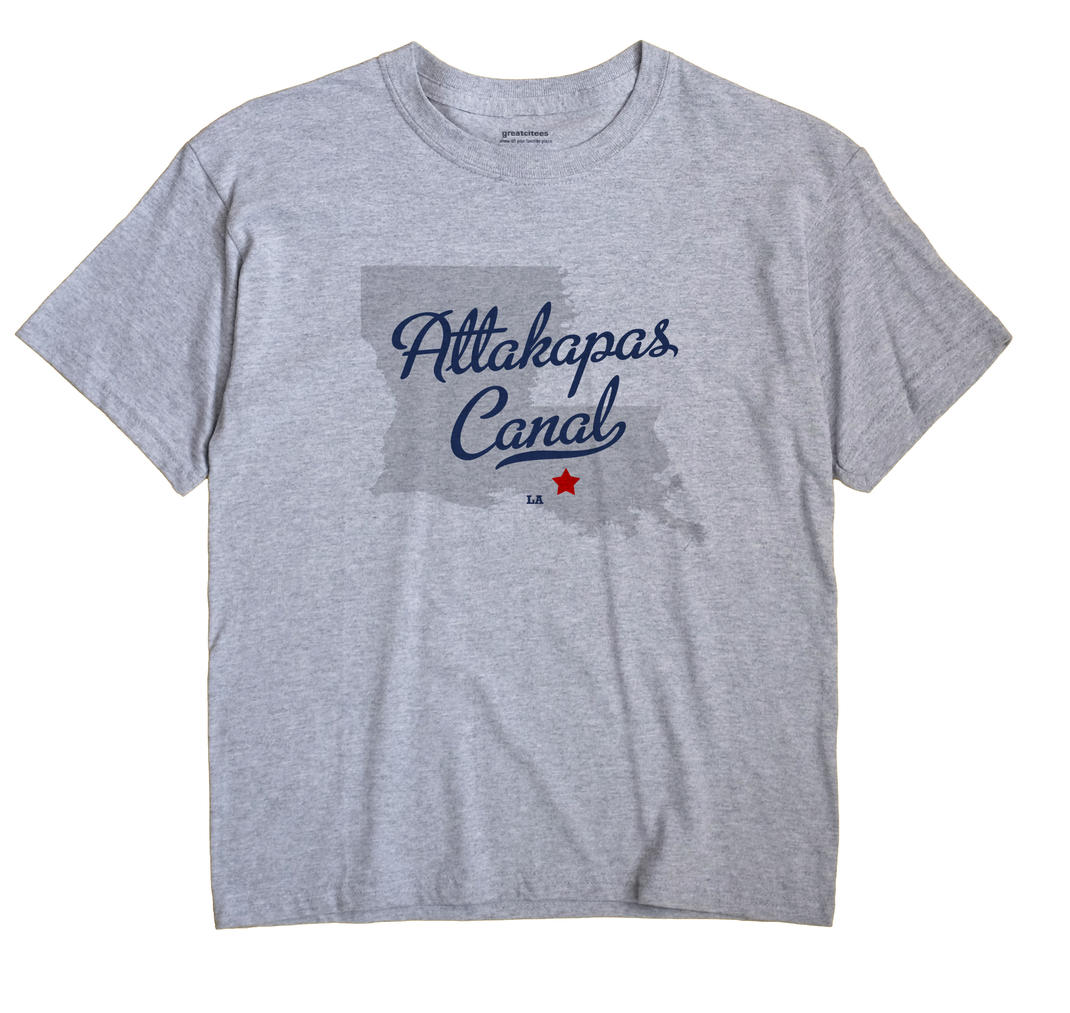 Attakapas Canal, Louisiana LA Souvenir Shirt