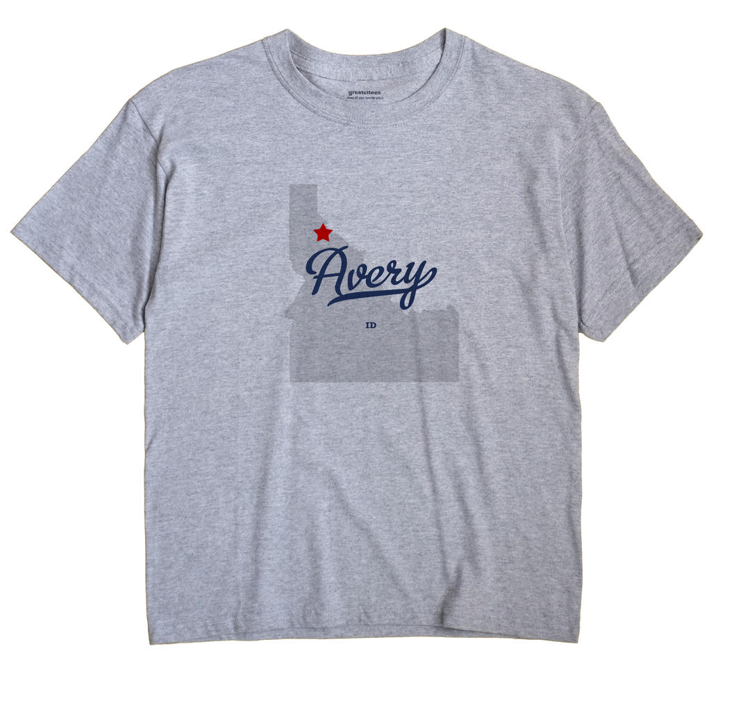 Avery, Idaho ID Souvenir Shirt