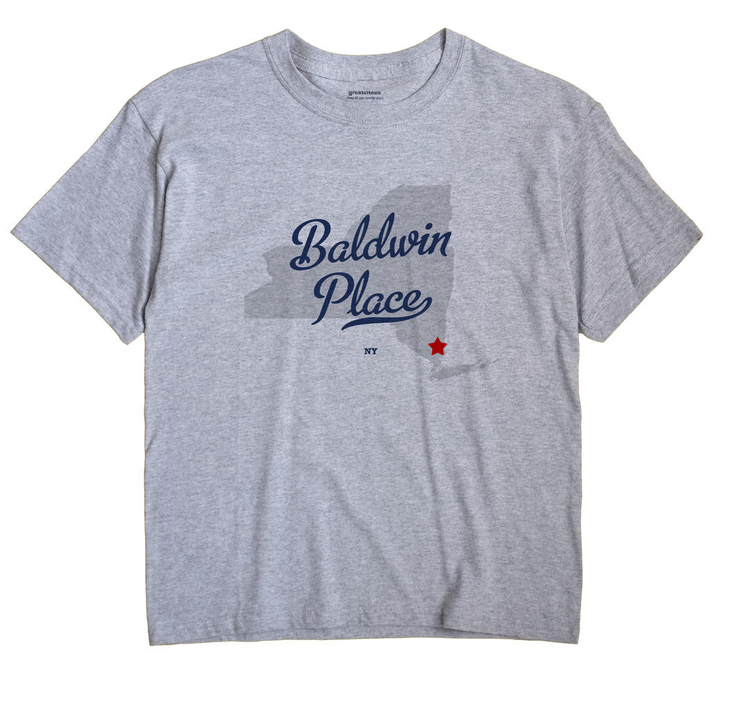 Baldwin Place, New York NY Souvenir Shirt
