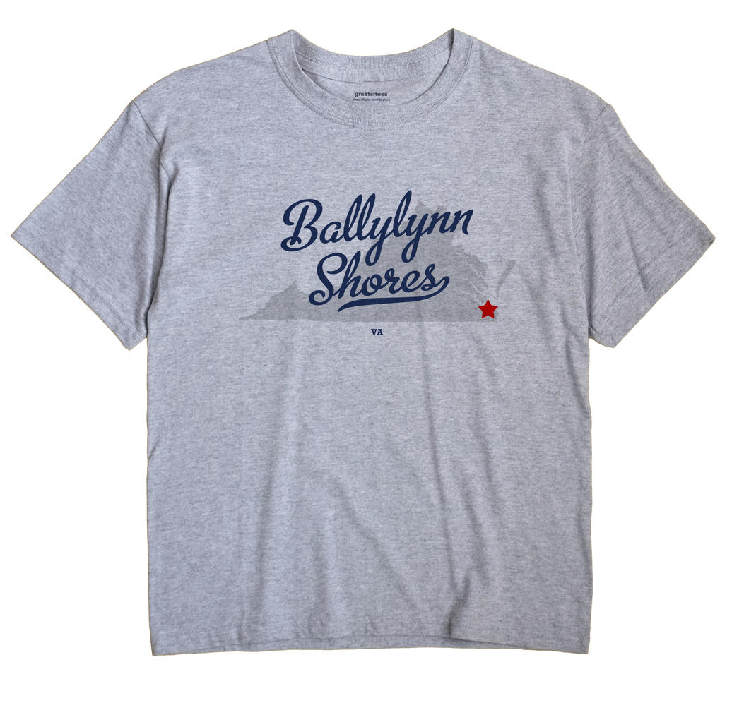Ballylynn Shores, Virginia VA Souvenir Shirt