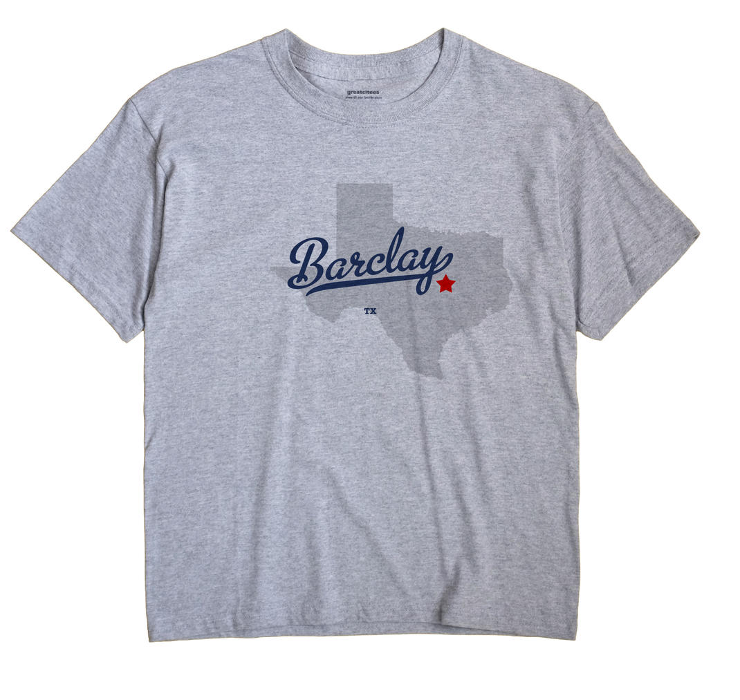 Barclay, Texas TX Souvenir Shirt