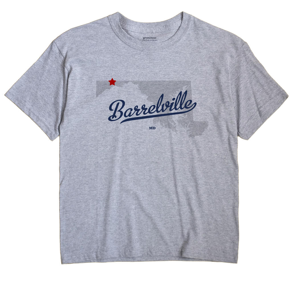 Barrelville, Maryland MD Souvenir Shirt
