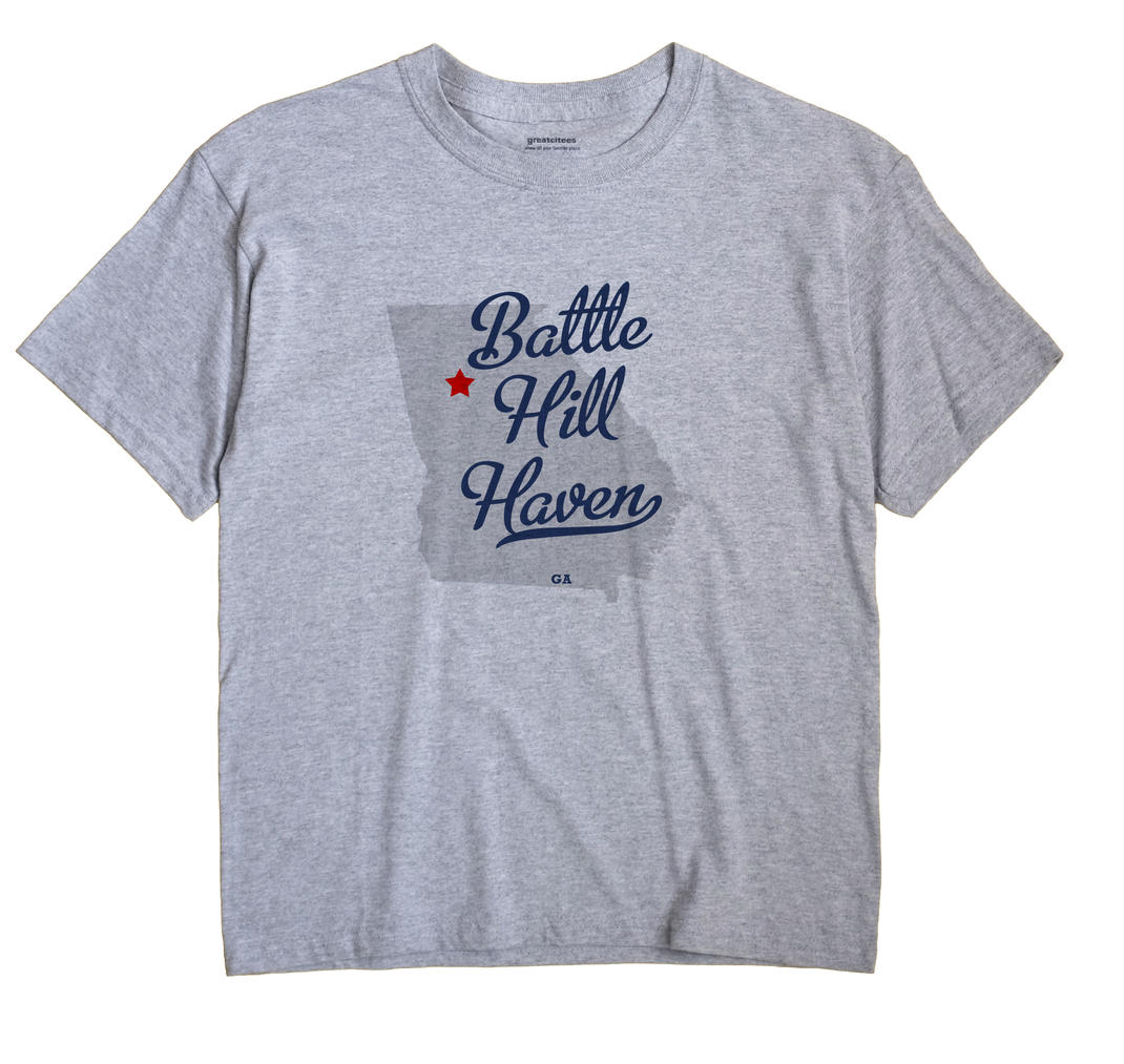 Battle Hill Haven, Georgia GA Souvenir Shirt