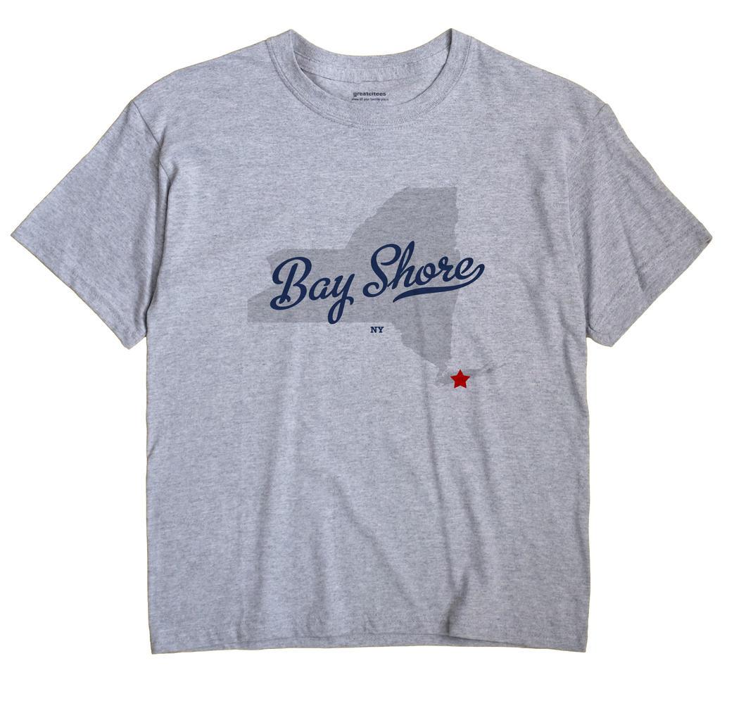 Bay Shore, New York NY Souvenir Shirt