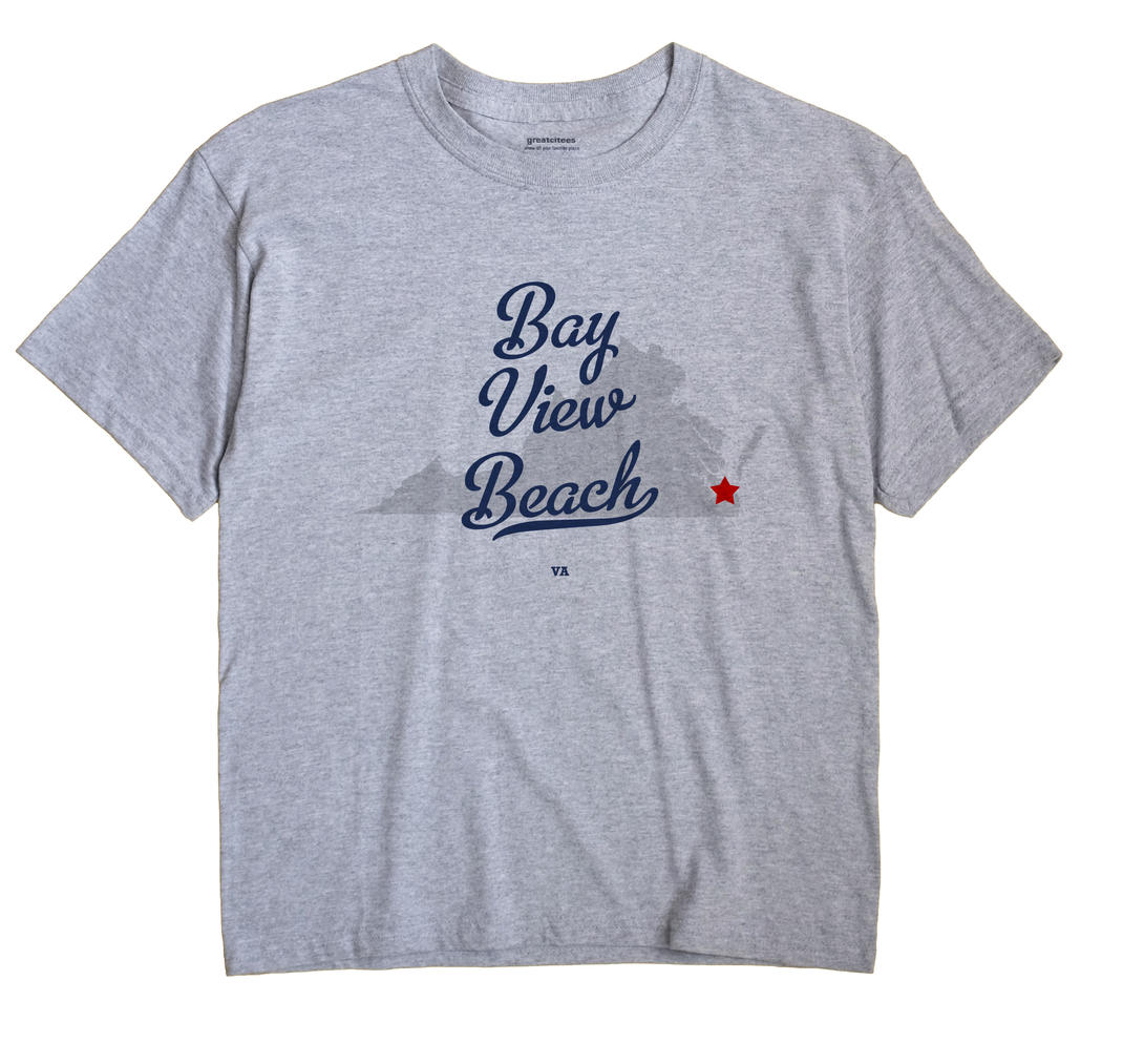 Bay View Beach, Virginia VA Souvenir Shirt