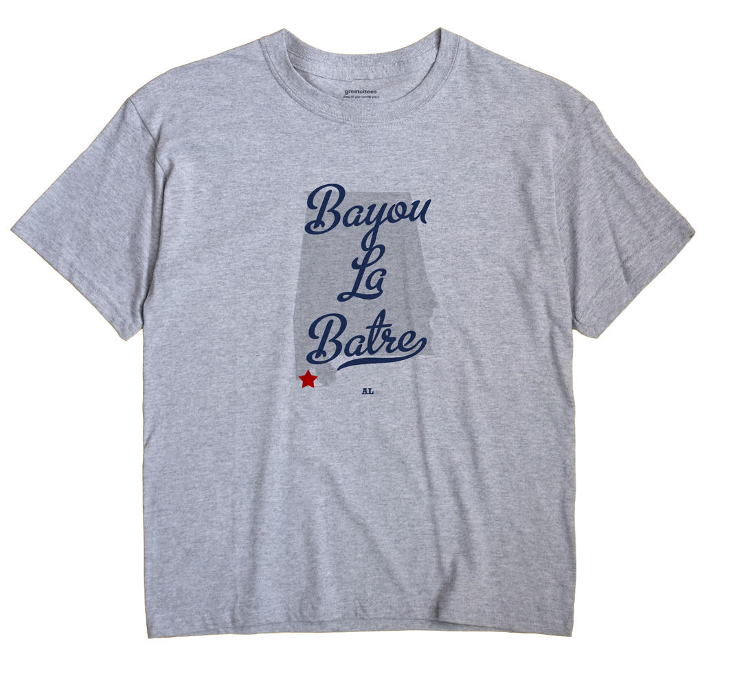 Bayou La Batre Alabama AL T Shirt METRO WHITE Hometown Souvenir
