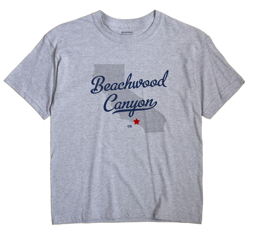 Beachwood Canyon, California CA Souvenir Shirt