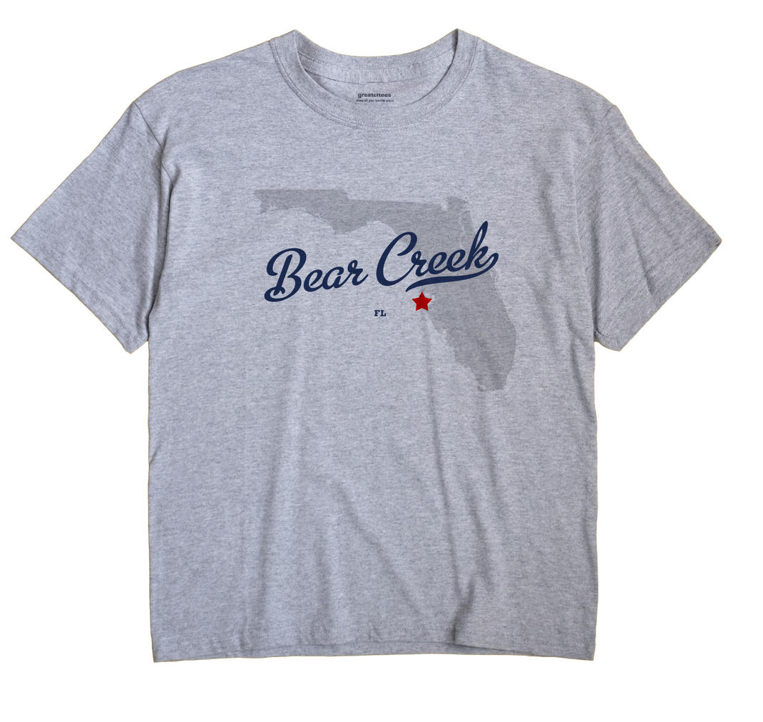 Bear Creek, Florida FL Souvenir Shirt