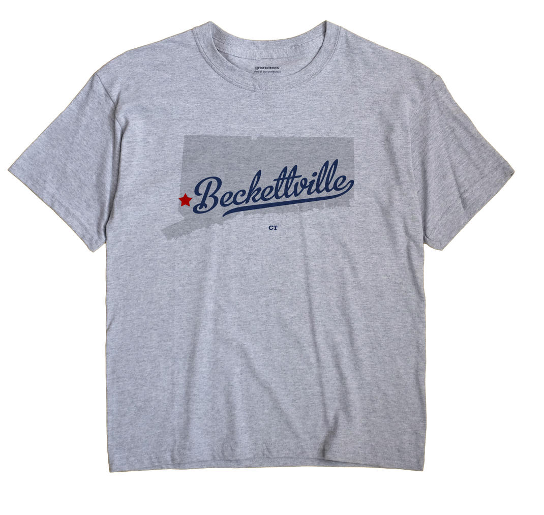 Beckettville, Connecticut CT Souvenir Shirt