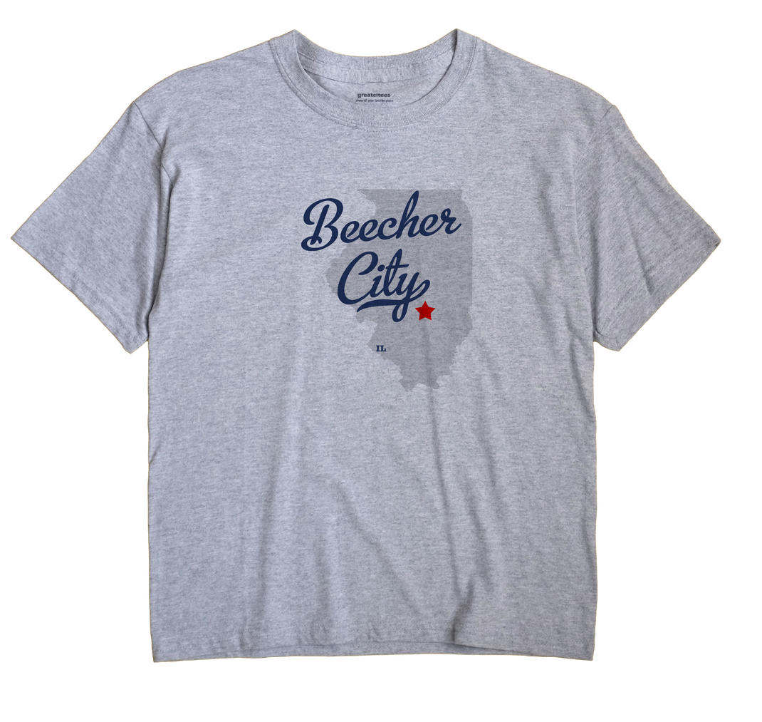 Beecher City, Illinois IL Souvenir Shirt