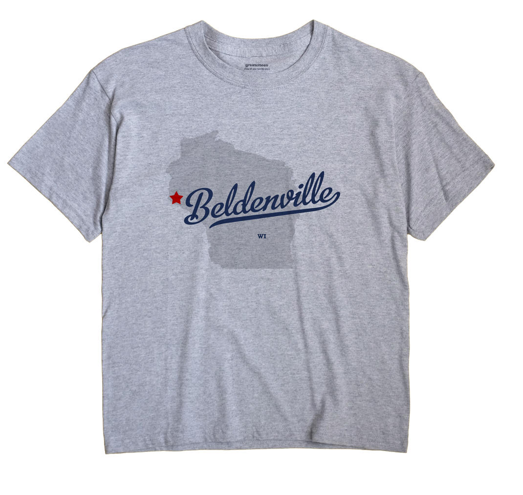 Beldenville, Wisconsin WI Souvenir Shirt