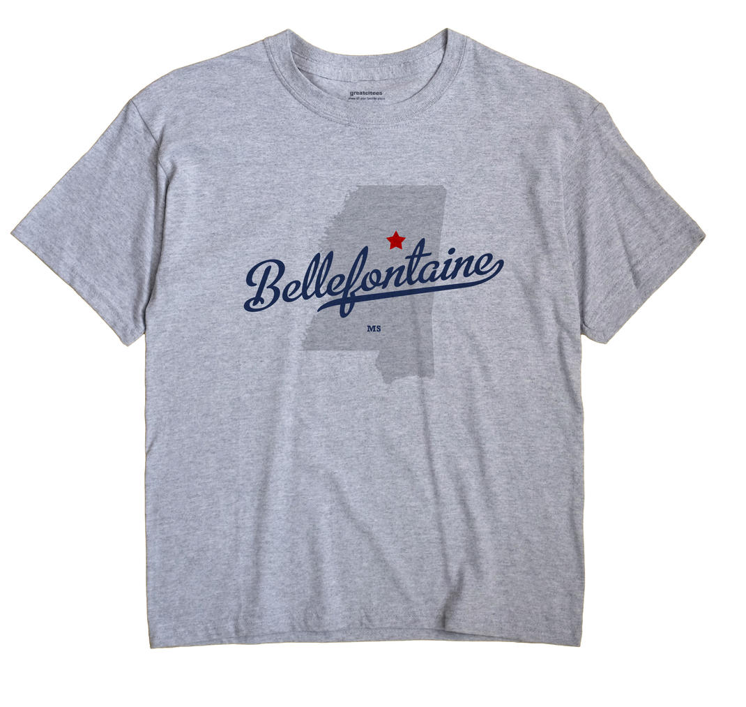 Bellefontaine, Mississippi MS Souvenir Shirt