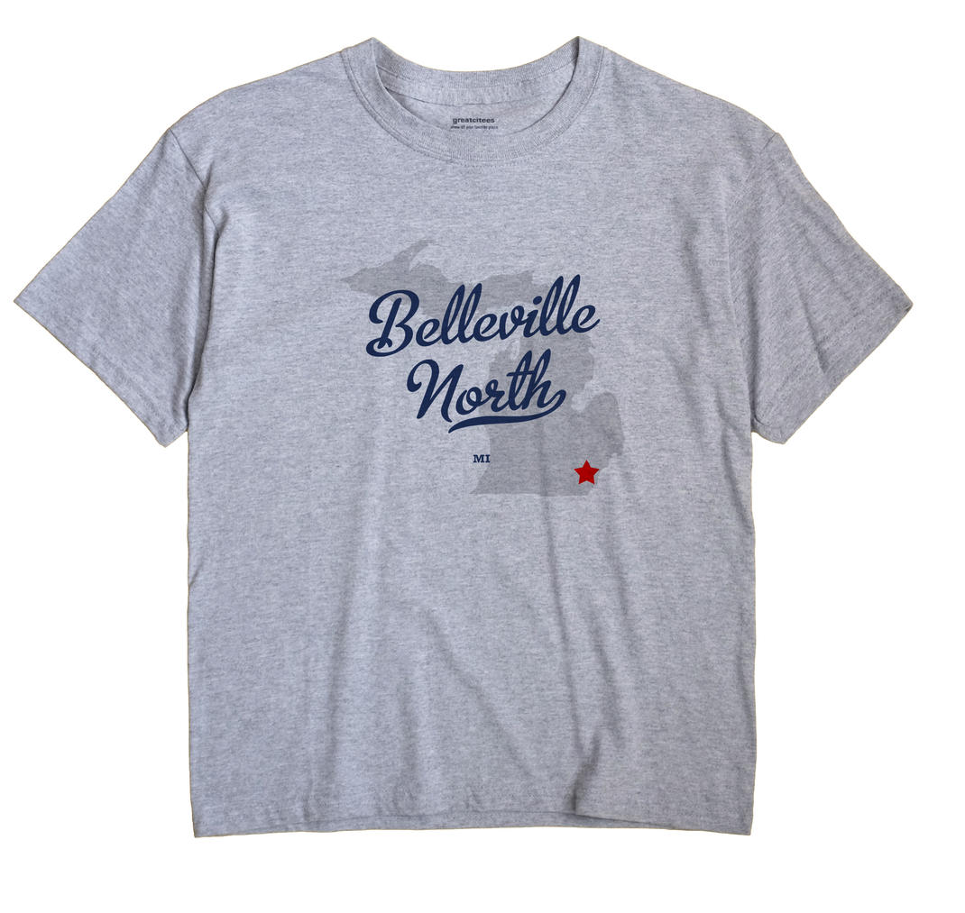 Belleville North, Michigan MI Souvenir Shirt