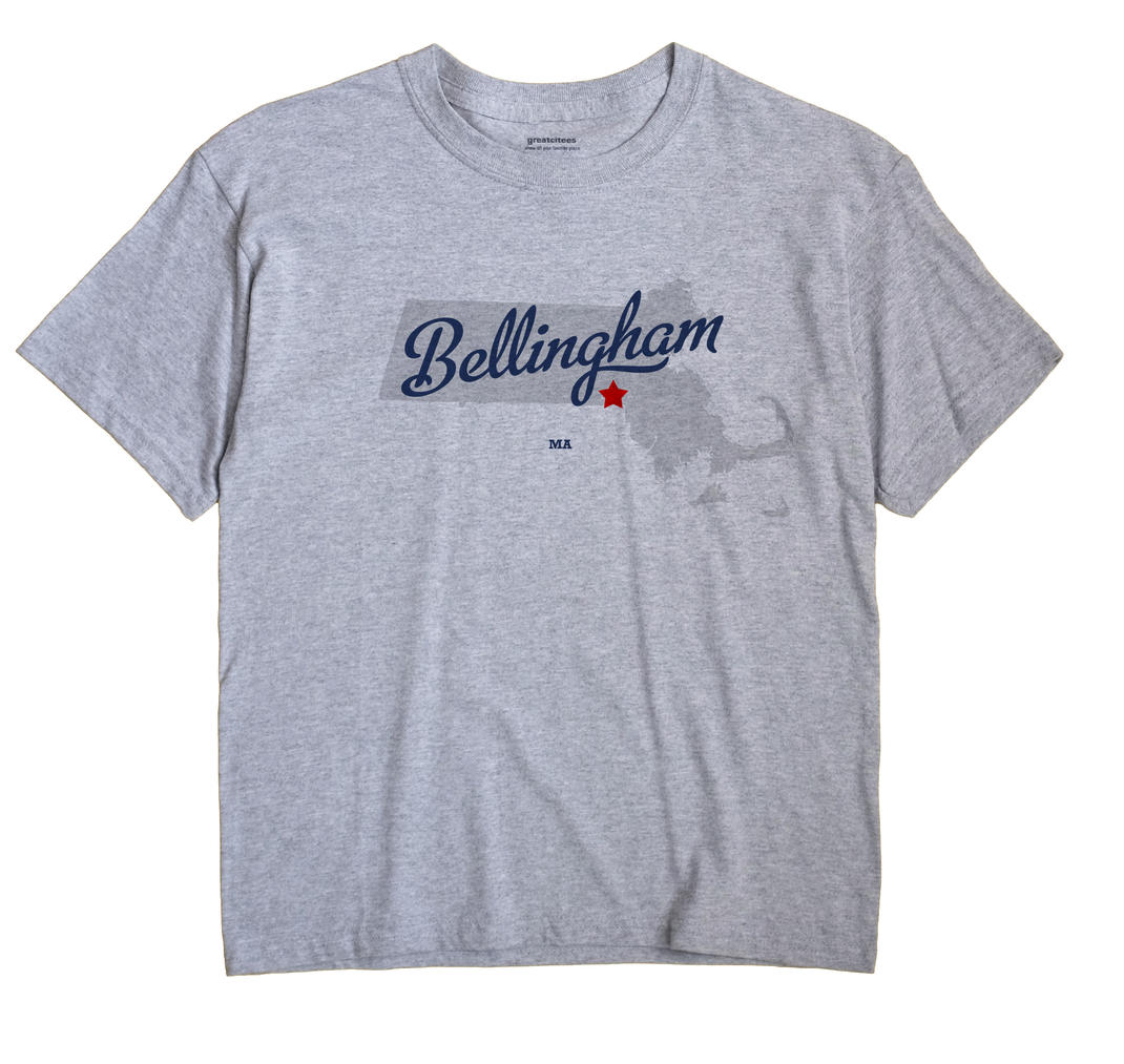 Bellingham, Massachusetts MA Souvenir Shirt
