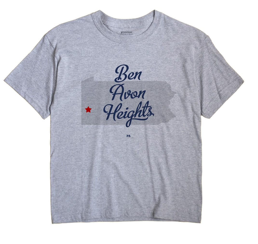 Ben Avon Heights, Pennsylvania PA Souvenir Shirt