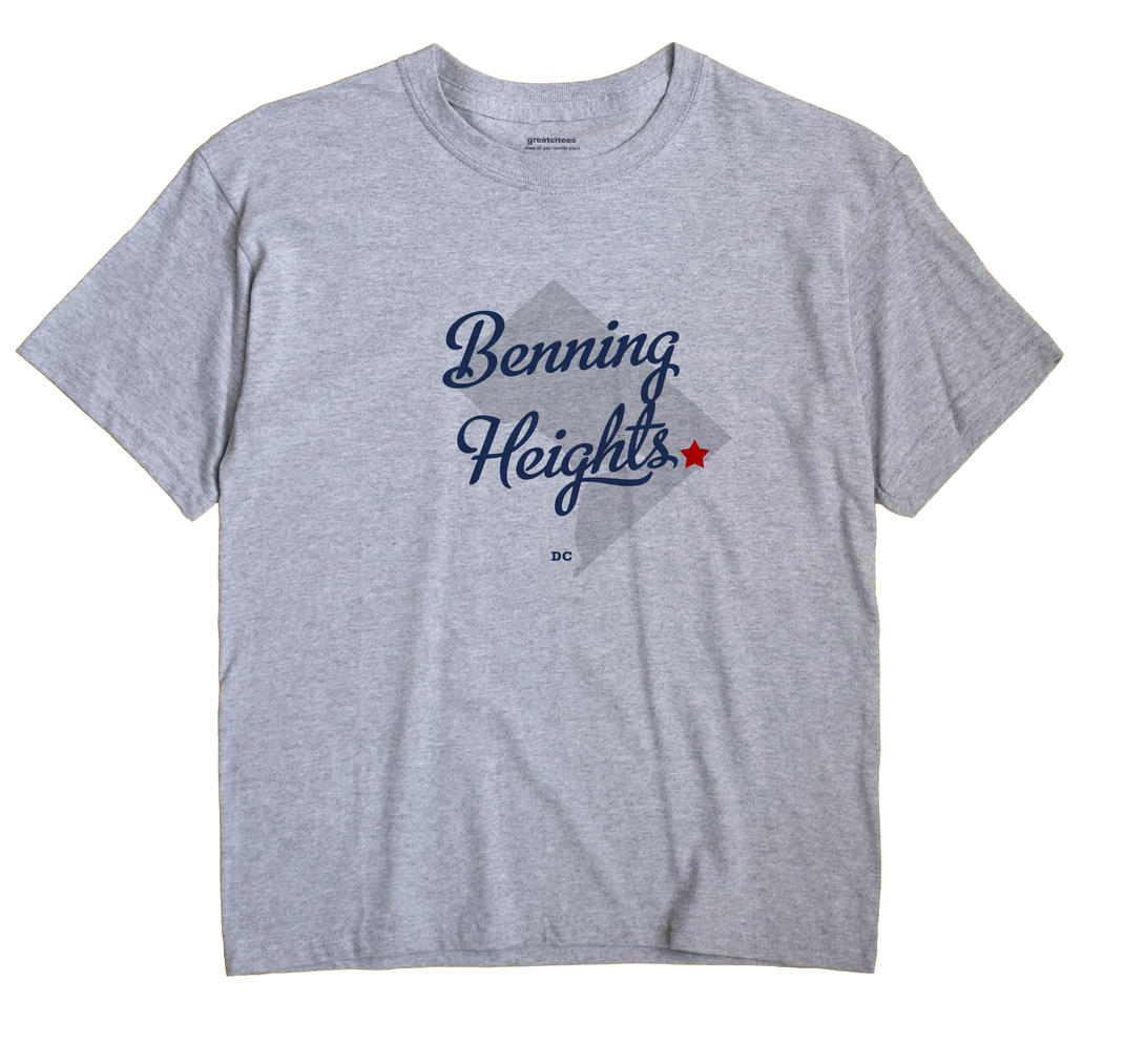 Benning Heights, District Of Columbia DC Souvenir Shirt