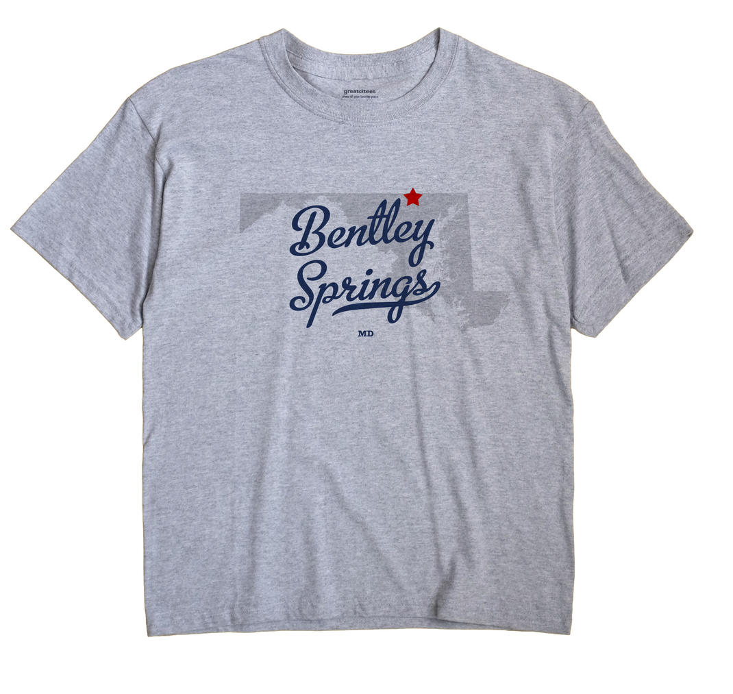 Bentley Springs, Maryland MD Souvenir Shirt