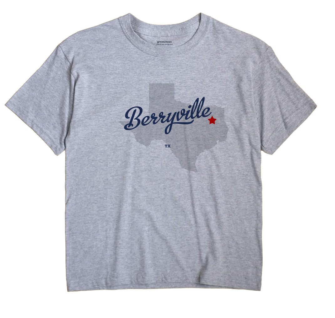 Berryville, Texas TX Souvenir Shirt
